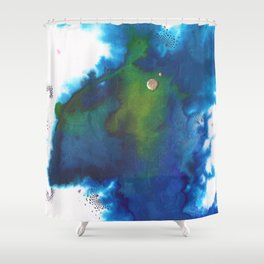 P163 Shower Curtain