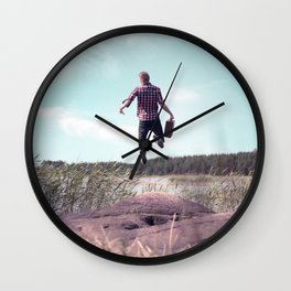 Adventure Wall Clock