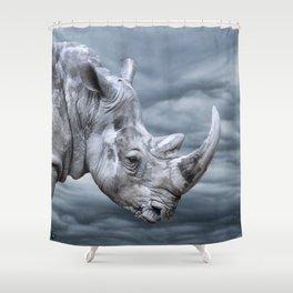 Thunder Rhino Shower Curtain