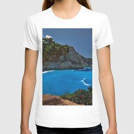 porto katsiki lefkada greece ionian sea hdr T-shirt