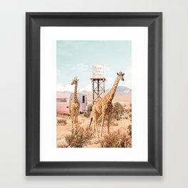 Desert Hot Springs Framed Art Print