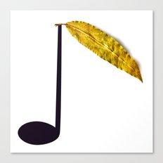Natural Music Canvas Print