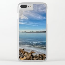 December At Big Marsh Clear iPhone Case