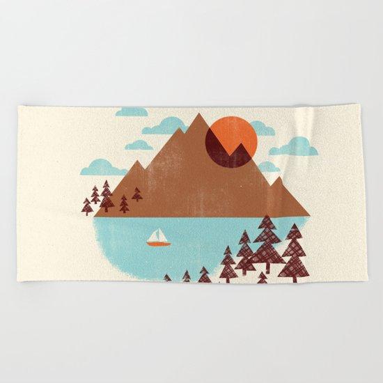 Indian Summer Beach Towel