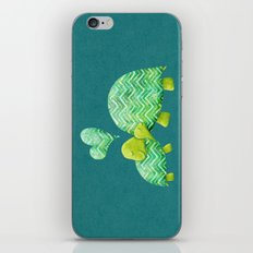 Turtle Hugs iPhone & iPod Skin