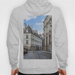 Old town street of Rennes Hoody