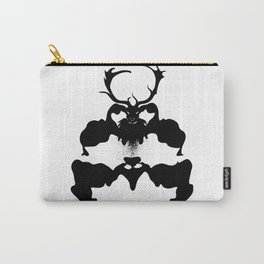 Creepy mysterious stag Carry-All Pouch