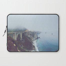Bixby Through the Fog Laptop Sleeve