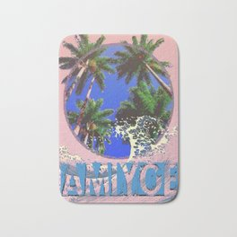 amiyoe wave Bath Mat