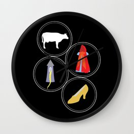The Cow as White as Milk... Wall Clock