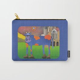 Udderly Frank - Funny Cow Art Carry-All Pouch