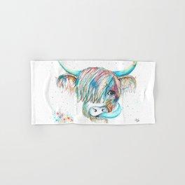 Highland Cattle full of colour Hand & Bath Towel