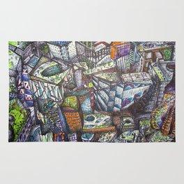 Abstract_City Rug