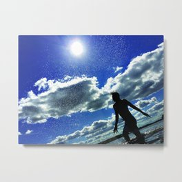 The Dance of reation Metal Print
