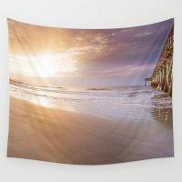 sunrise Wall Tapestries featuring Sunrise by Terri Ellis