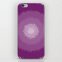 purple decay iPhone Skin