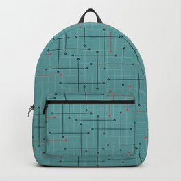 Swizzle Stix on Blue Backpack