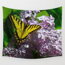 Pollination - Series; 2 of 3 Wall Tapestry