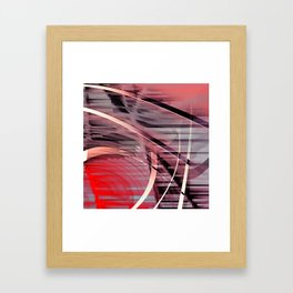 red rot Framed Art Print