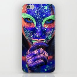 Ultraviolet iPhone Skin