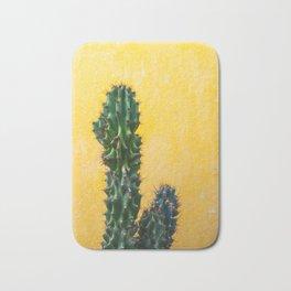 Cactus in Mexico City Bath Mat