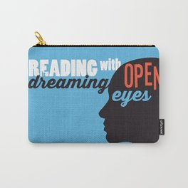 Open Eyes - Just Read Carry-All Pouch