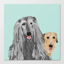 Zia and Vivienne Canvas Print