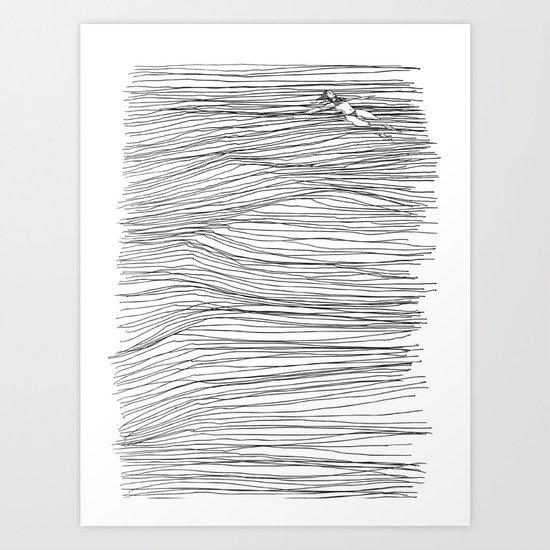 Another Long Silence Art Print