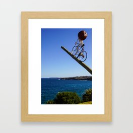 Sydney Scuptures By The Sea Framed Art Print