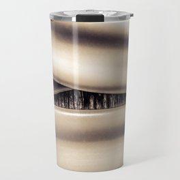 Bound in brown Travel Mug