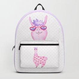 Llama Love Backpack