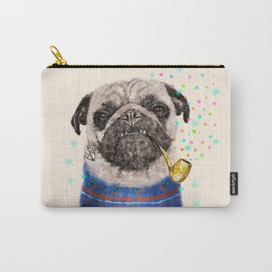 Mr.Pug II Carry-All Pouch
