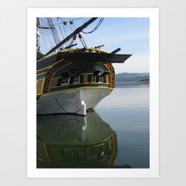 Lady Washington Tall Ship....... Art Print