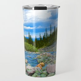 Geraldine Lakes Hike in Jasper National Park, Canada Travel Mug