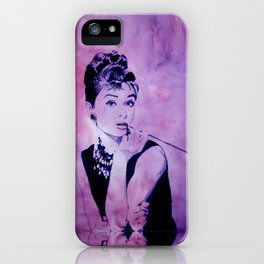 MISS GOLIGHTLY - Breakfast at Tiffany´s iPhone Case