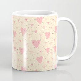 Heart Pattern Coffee Mug