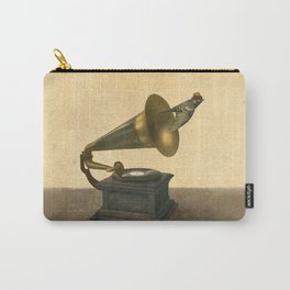 Vintage Songbird Carry-All Pouch