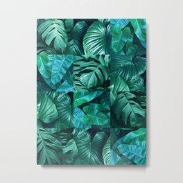 Plant collage XI Metal Print