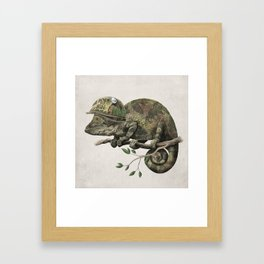 Born to Hide Framed Art Print