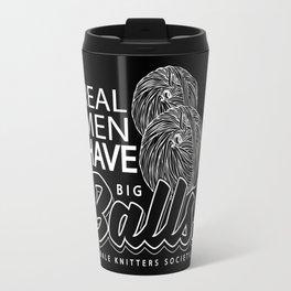 "Real Men ""Tote Bag"" Edition Travel Mug"