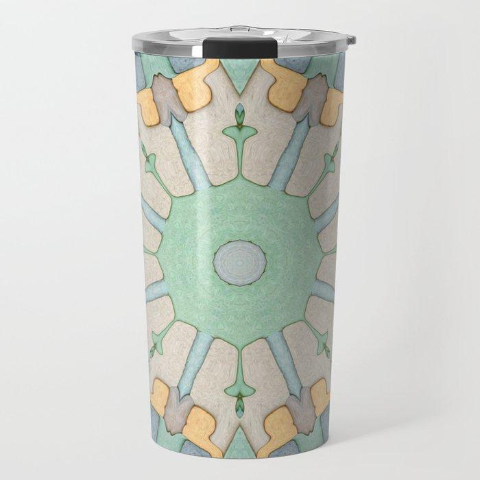Earth Tones Mandala Travel Mug