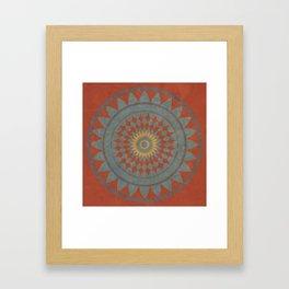 Maroon I Framed Art Print