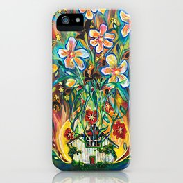 House in Bloom iPhone Case