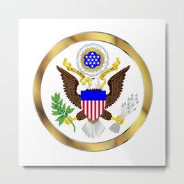 Great Seal Of America Metal Print