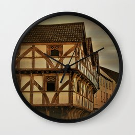 King Johns Hunting Lodge Wall Clock