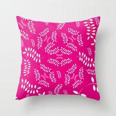 ORGANIC & NATURE (GIRL) Throw Pillow