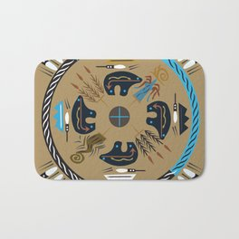 American Native Pattern No. 114 Bath Mat