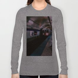Blue Line Long Sleeve T-shirt