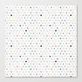 Connectome Canvas Print