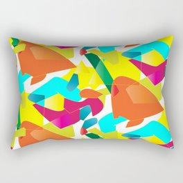 Colorful Mood Rectangular Pillow